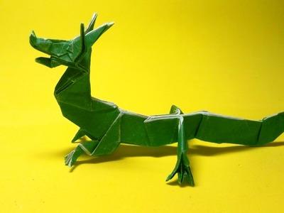 Origami Eastern Dragon (Jun Maekawa) part 1