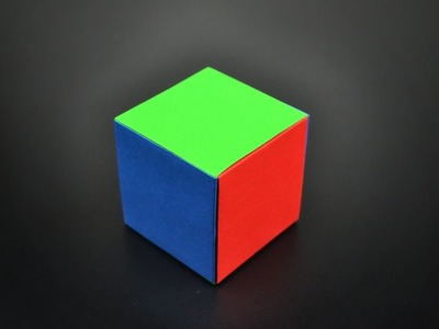 Origami: Simple Modular Cube - Instructions in English (BR)