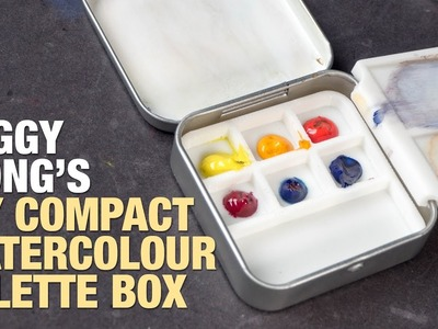 Peggy Wong's DIY Compact Watercolor Box