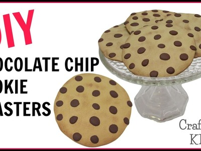 Polymer Clay Chocolate Chip Cookie Coasters | DIY Projects | Craft Klatch | Another Coaster Friday |