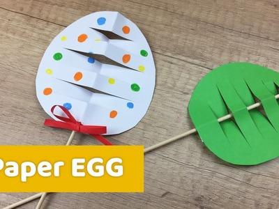 Super simple easter egg decoration, great easter craft for kids!