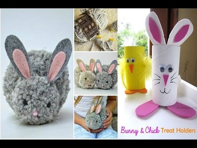 Top 5 DIY Spring and Easter craft HOW TO | Easter Egg Deocr | Paper Bunny  | Easter Home Decor 2017