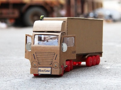 Wow! Amazing Truck Container DIY at Home - Mini Gear Truck Container