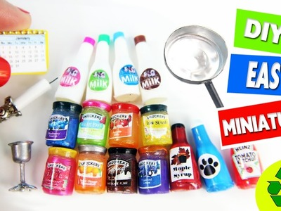10 Easy DIY Miniatures - each in less than 1 minute #2