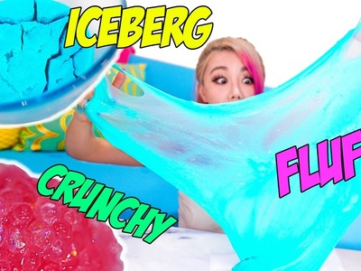 5 AMAZING DIY VIRAL SLIMES! SATISFYING COMPILATION! EASY & BEST SLIMES INCLUDING GIANT FLUFFY SLIME!