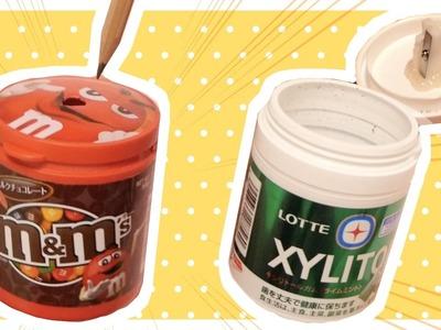 Back to School DIY | Gum box pencil sharpener