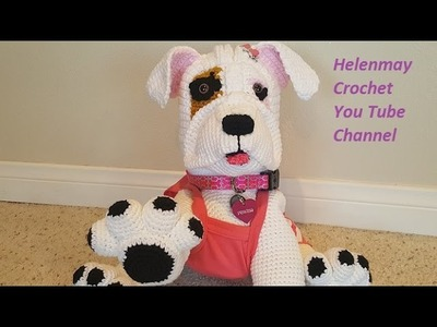Crochet Boxer Dog Style Differences For Princess DIY Video Tutorial