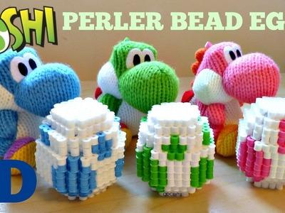 DIY 3D Perler Bead Yoshi Easter Eggs