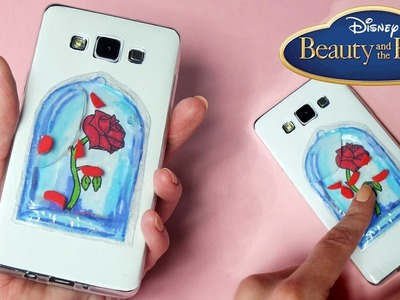 DIY Beauty And The Beast LIQUID PHONE CASE