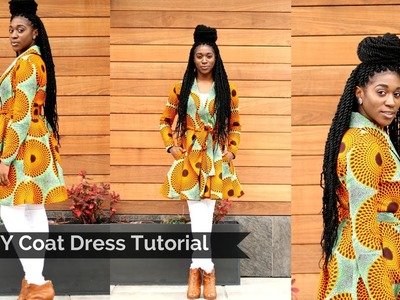DIY Coat Dress Tutorial Part 2