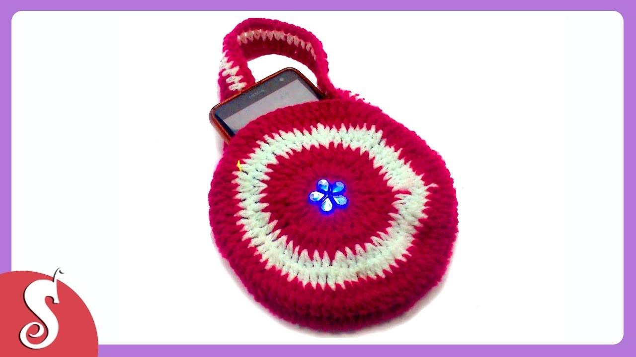 DIY Crochet Mobile Purse By Sonali