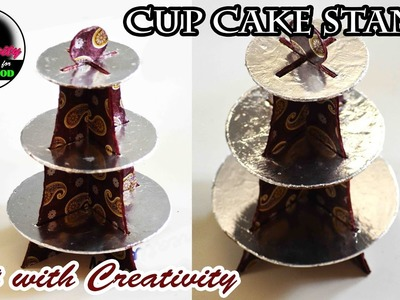 DIY Cupcake Stand | Detachable | No glue | Art with Creativity 174