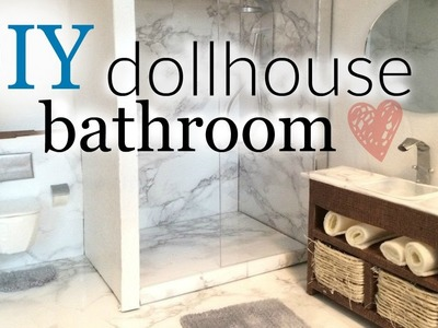 DIY: doll bathroom pt.1