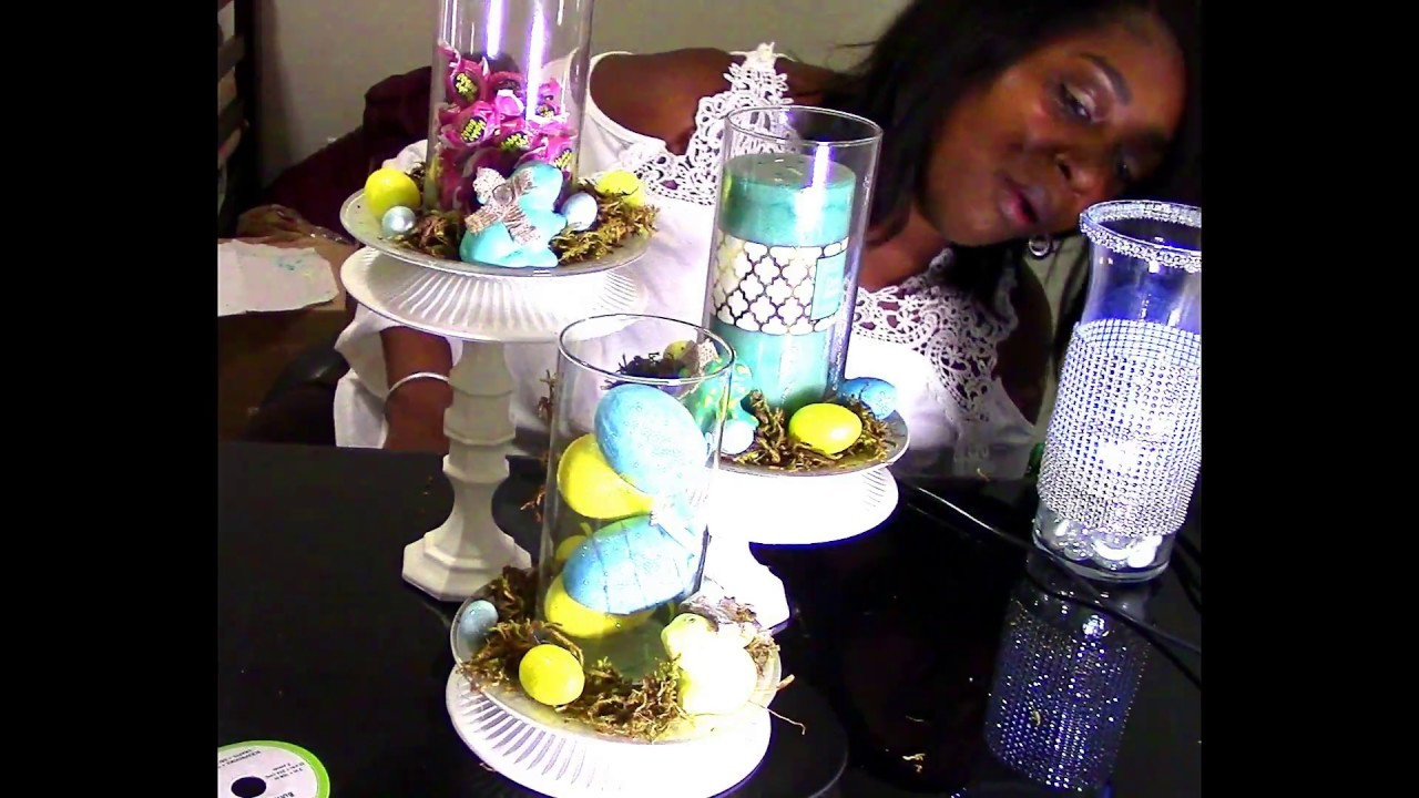 DIY: Dollar Tree - From cupcake to candle holder Pottery Barn Inspired