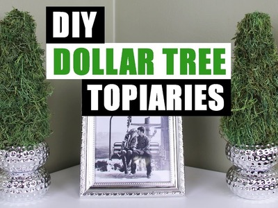 DIY DOLLAR TREE TOPIARIES | Dollar Store DIY Spring Topiary Tutorial | DIY Spring Summer Decor