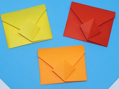 DIY - Easy origami envelope tutorial. How to make envelope. DIY paper crafts easy. Julia DIY