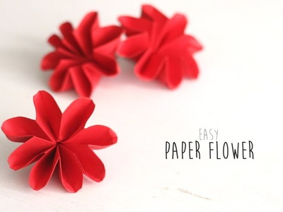 DIY: Easy Paper Flower