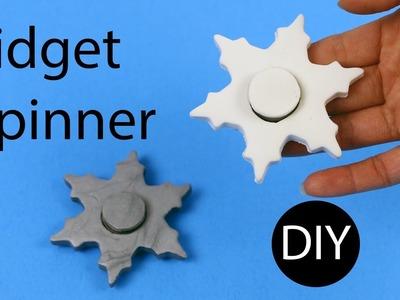 DIY Fidget Spinner Snowflake by Creative World