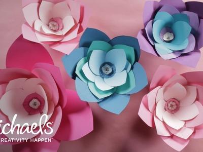 DIY Giant Paper Flower   Michaels