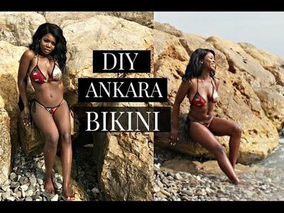 DIY INSTAGRAM AFRICAN ANKARA BIKINI SWIMSUIT SUMMER 2017 + TRY ON