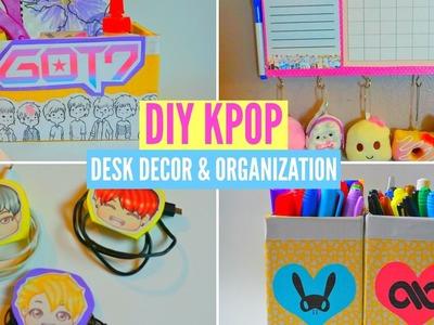 ►DIY KPOP DESK DECOR & ORGANIZATION