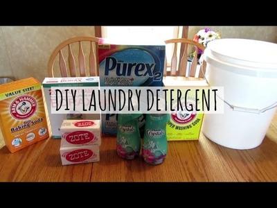 DIY LAUNDRY DETERGENT | TUTORIAL