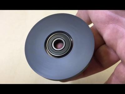DIY MAGNETIC FIDGET SPINNER   How To Make Hand Spinner Fidget Toys