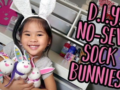 DIY No Sew Sock Bunnies | Easy Spring Crafts | Great DIY for Easter