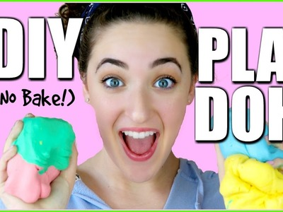 DIY PLAY-DOH USING ONLY 2 INGREDIENTS - CORNSTARCH + CONDITIONER (No Bake)