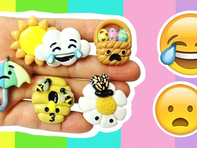 DIY SPRING EMOJIS! Polymer Clay Tutorial
