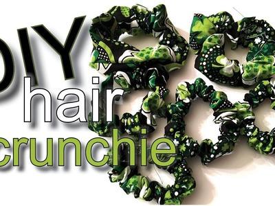 DIY Tutorial How to Make a Scrunchie