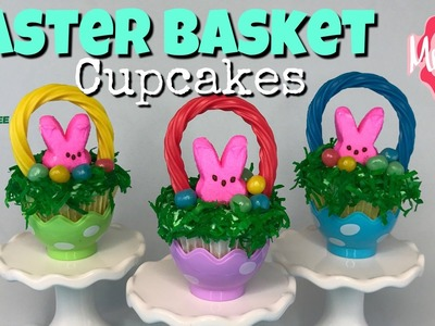 Dollar Tree DIY Easter Basket Cupcakes