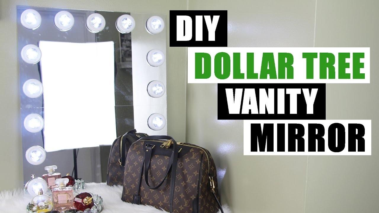 Dollar Tree Diy Vanity Mirror Large Diy Vanity Mirror