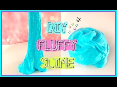 Fluffy Slime WITHOUT BORAX-DIY Fluffy Slime Recipe Tutorial