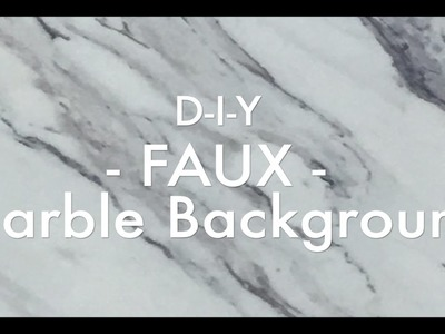 HOME DIY-QUICK + EASY Affordable Instagram Marble Backdrop