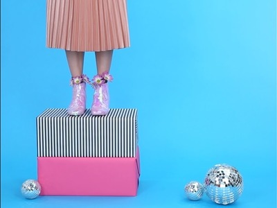 How to DIY Holographic Boots