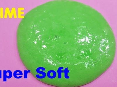 How To Make Dish Soap Slime Super Soft !! DIY Slime Without Borax!