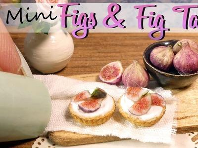 How To Mini Figs & Fig Tart Tutorial. DIY Miniature Food. SugarCharmShop