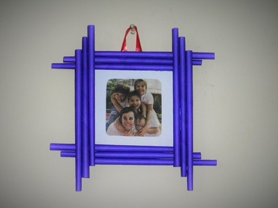Latest - DIY Photo Frame Easy to Make [ Made with Colorful Paper ]