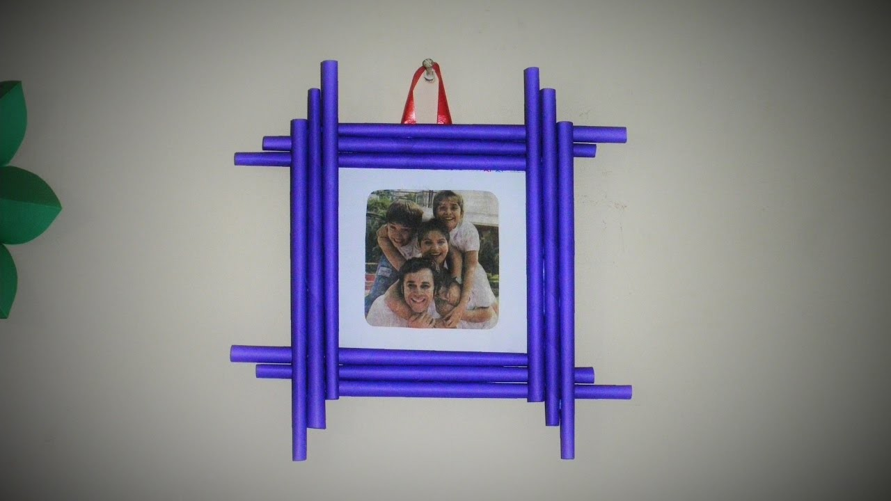 how to make your own photo frames diy