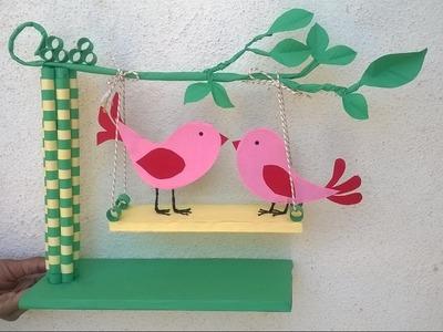 Paper Quilling Showpiece || DIY paper showpiece for room decoration