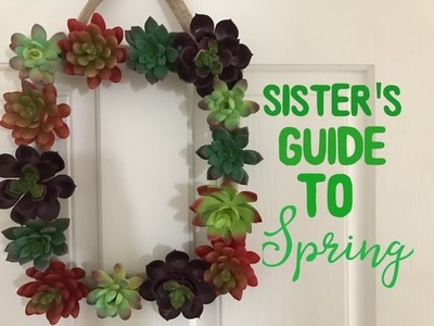 Sister's Guide to Spring. Dollar Tree DIY & Recipe