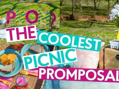 THE COOLEST PICNIC PROMPOSAL | DIY PROMPOSAL IDEA