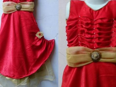 Umbrella cut designer gown DIY |designer gown drafting, cutting and stitching