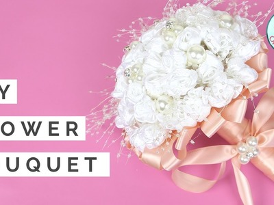 Wedding Bouquet Tutorial - How to Make DIY Flower Bouquet for Weddings & Spring - Real.Fake Flowers
