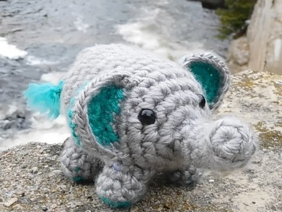 Amigurumi Crochet Elephant Tutorial
