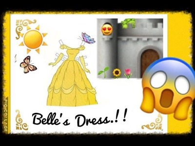 Belle Disney Princess Beauty And The Beast Crochet Dress | TUTORIAL | Tejiendo Con Erica