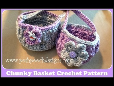 Chunky Basket Crochet Pattern