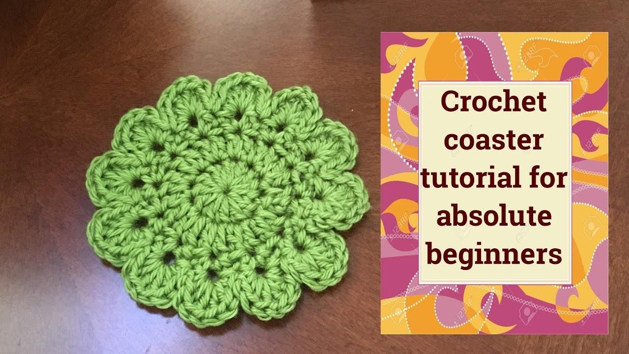 Amigurumi For Absolute Beginners : Coaster crochet tutorial for absolute beginners, My Crafts ...