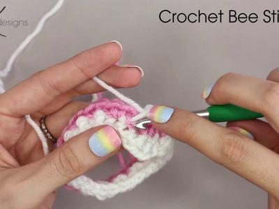 Crochet Bee Stitch